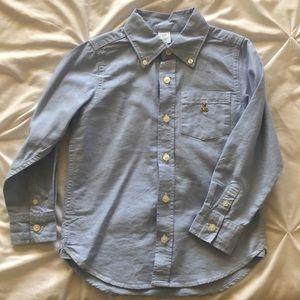 GAP Toddler Long Sleeve Button Down Shirt
